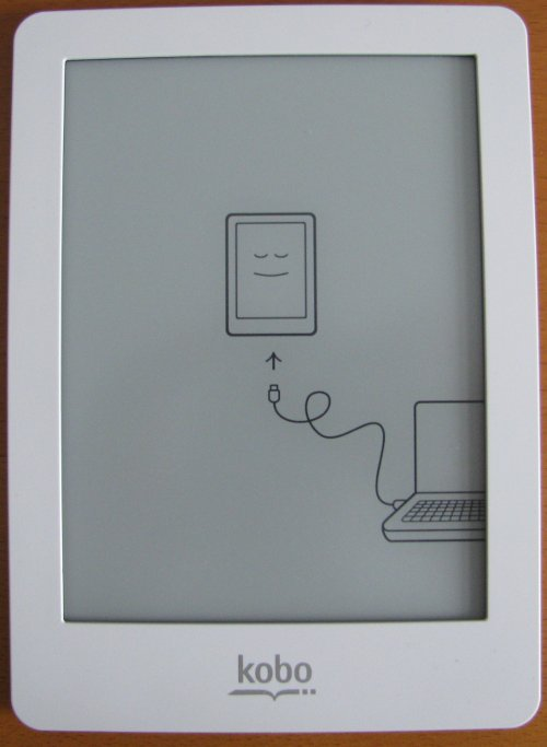New Kobo eReader screen