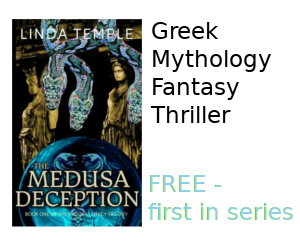 Medusa Deception novel on sale now